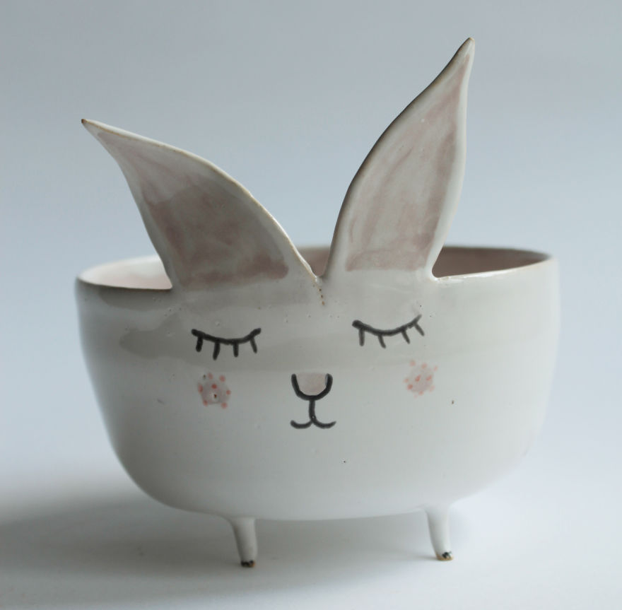Adorable Animal Ceramics By Polish Artist Quot Clay Opera